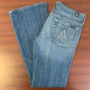 7 For All Mankind Bootcut A Pocket The Lexie
